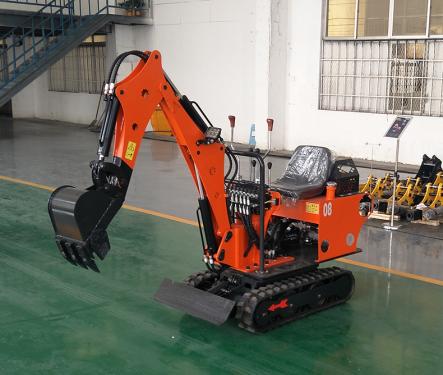 路霸LB-08s履带式液压小挖掘机
