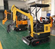 路霸LB-15多功能微型挖掘机