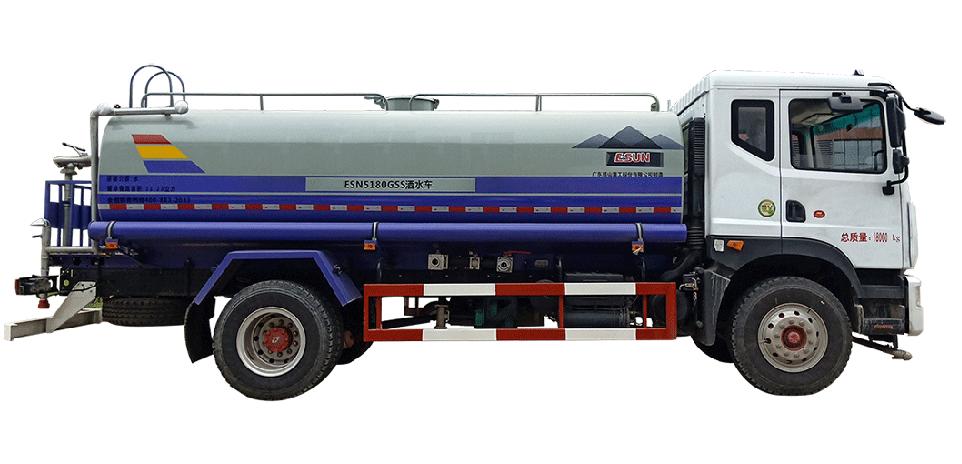 易山重工ESN5180GSS多功能绿化洒水车_厂家批发价高性价比(可租)高清图 - 外观
