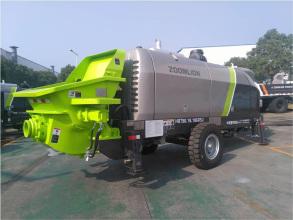 中联重科HBT90.18.186RSU拖泵高清图 - 外观
