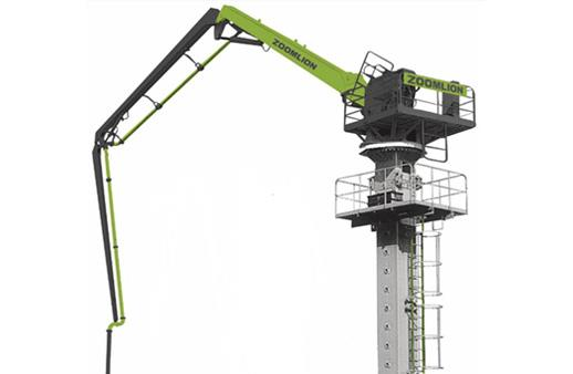 中聯重科33米管柱式布料機高清圖 - 外觀