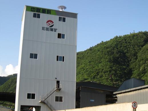 中联重科ZSL150150t/h楼式机制砂生产线