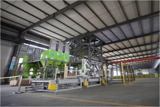 中联重科KMA1000轻型干混砂浆生产线