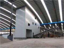 中联重科ZSL100100t/h楼式机制砂生产线