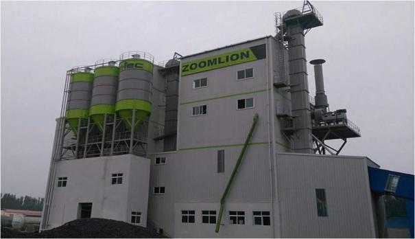 中联重科RMAS3000复合塔式干混砂浆生产线
