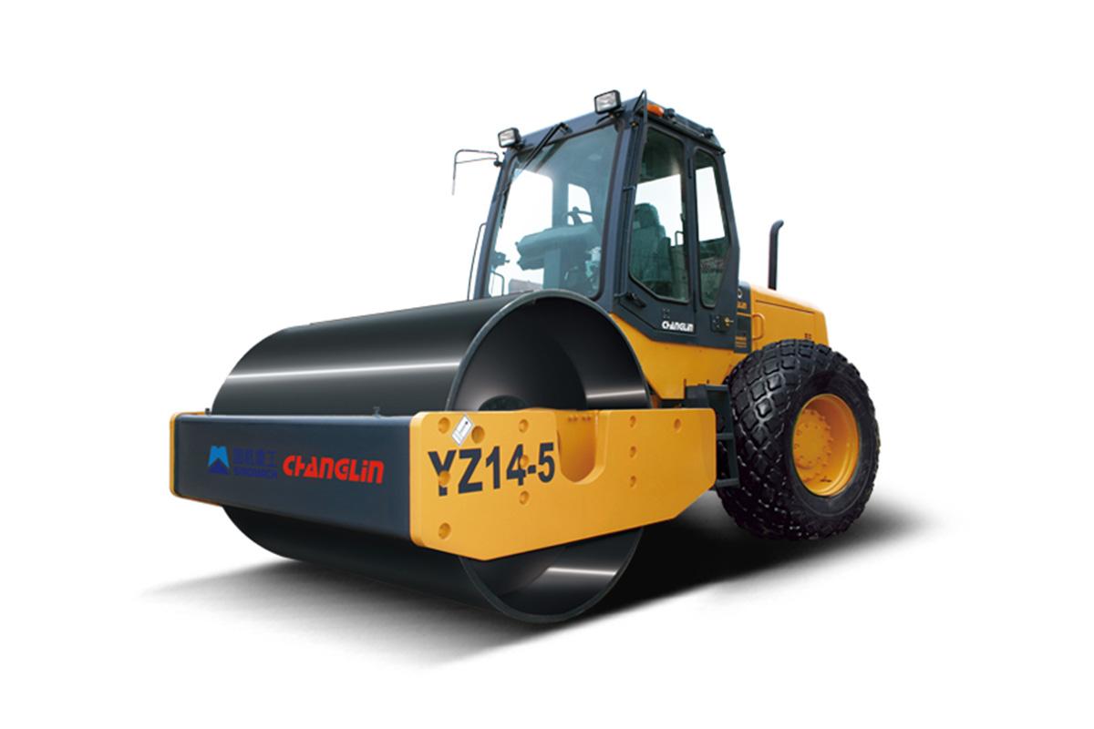 国机常林YZ14-5机械式实用型压路机高清图 - 外观