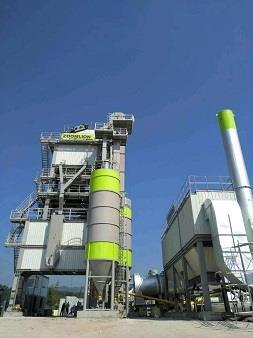 中联重科LBX3000沥青混合料搅拌设备