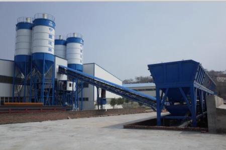中建机械HZS180PC预制构件专用搅拌站(楼)
