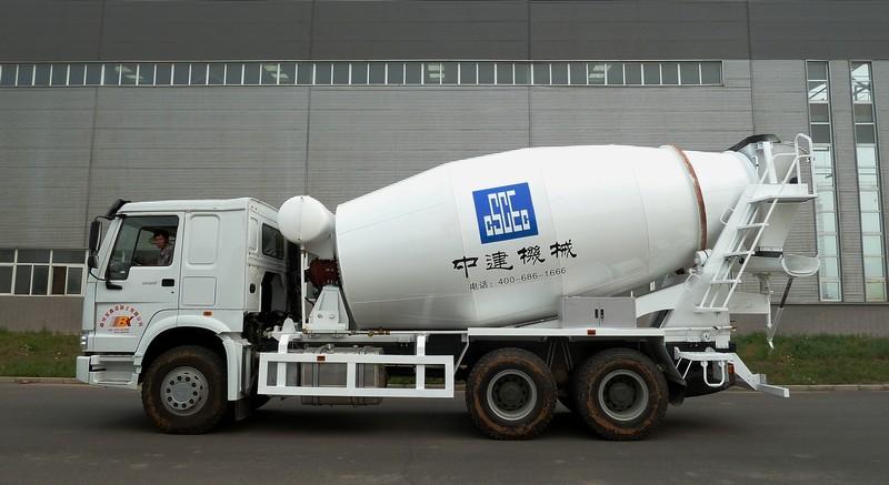 中建机械YCZ5252GJB搅拌运输车高清图 - 外观