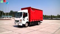 森源重工YBM5045XXYBEV型纯电动厢式运输车运输车