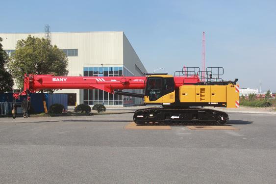 三一重工SCC250TB-T5履带起重机高清图 - 外观