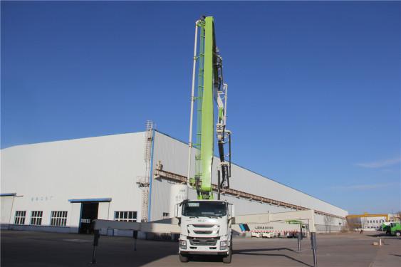 雷萨重机BJ5449THB-XF(L10-56米)泵车高清图 - 外观