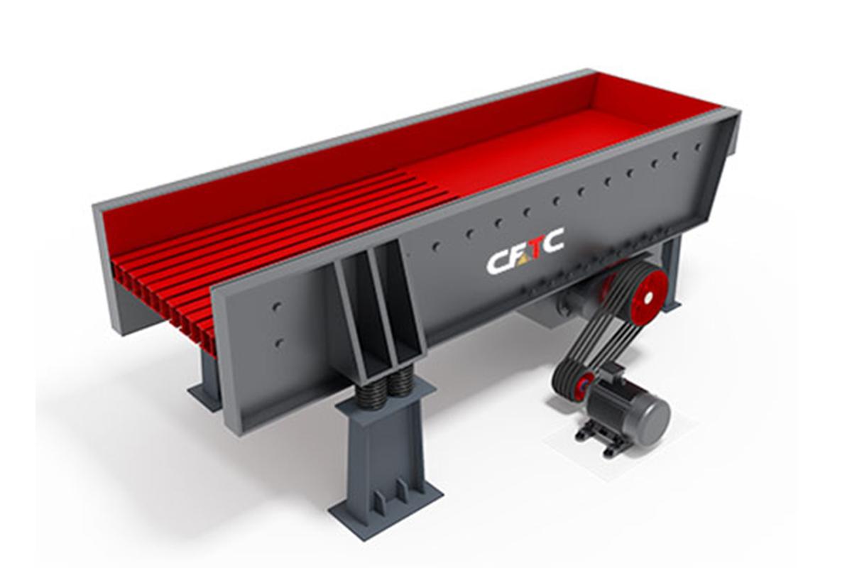 华一工程ZSW-600*200给料机高清图 - 外观