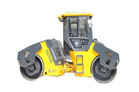 柳工6210E双钢轮压路机