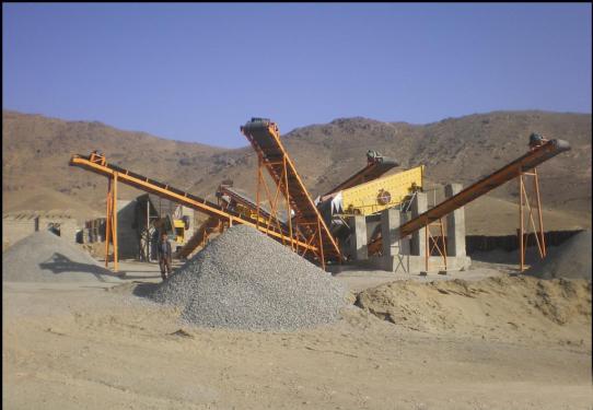 众翰机械20T 50T 100T 150T石料制砂生产线