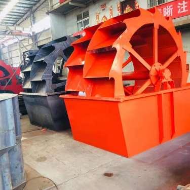 众翰机械3020轮式洗砂机