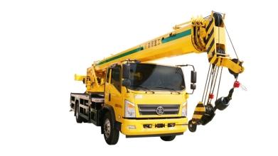 森源重工国标12吨汽车起重机高清图 - 外观