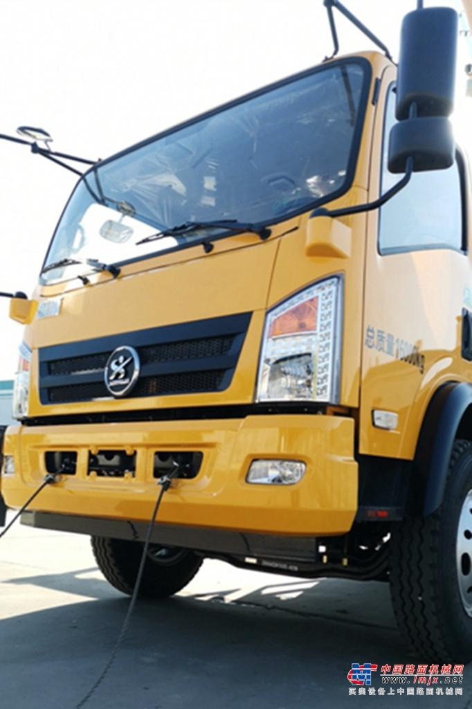 森源重工国标12吨 SMQ5160JQZ汽车起重机高清图 - 森源12吨吊车细节图