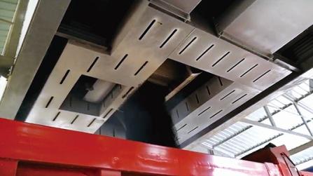 鑫海路机沥青烟气收集二次燃烧方案