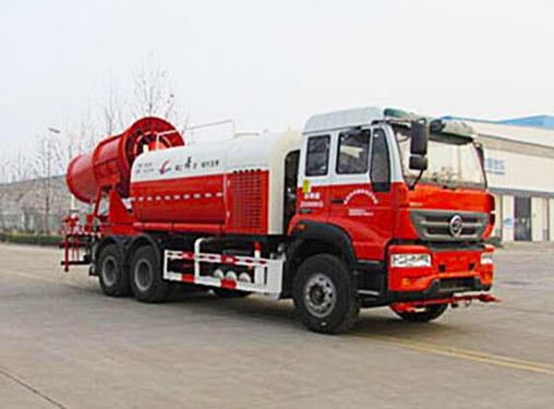 易山重工ZTQ5250TDYZ1N43E多功能雾炮车_13立方米水罐