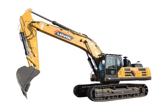 雷沃重工FR480E-HD挖掘机