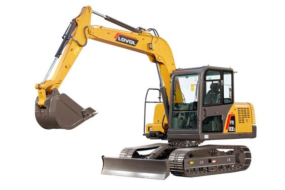 雷沃重工FR80E2挖掘机