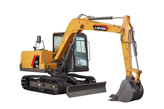 雷沃重工FR75E2挖掘机