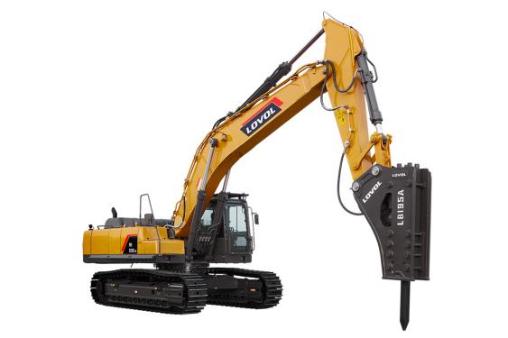 雷沃重工FR510E2-HD挖掘机