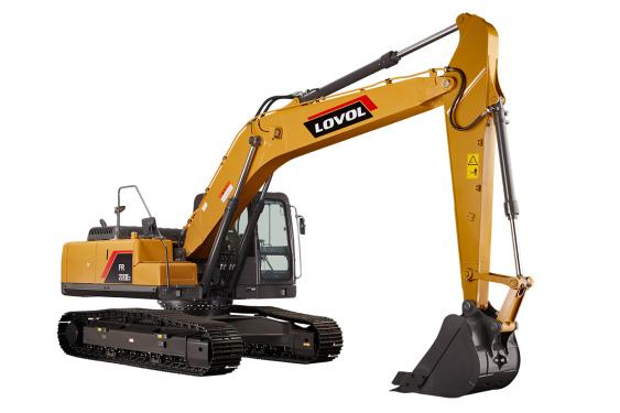 雷沃重工FR220E2挖掘机