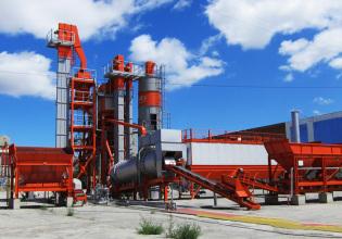 德基机械DG5000D常规型沥青混合料搅拌设备高清图 - 外观