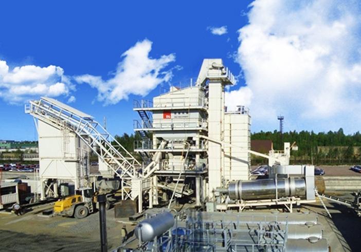 德基机械DGC3000集装箱模块式沥青混合料搅拌设备