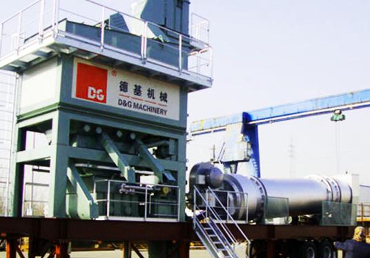 德基机械DGM1300拖挂式沥青混合料搅拌设备