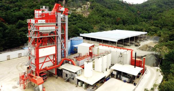 德基机械环保型沥青混合料搅拌设备