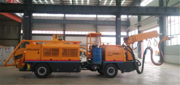 铁建重工ZY62矿用混凝土湿喷机