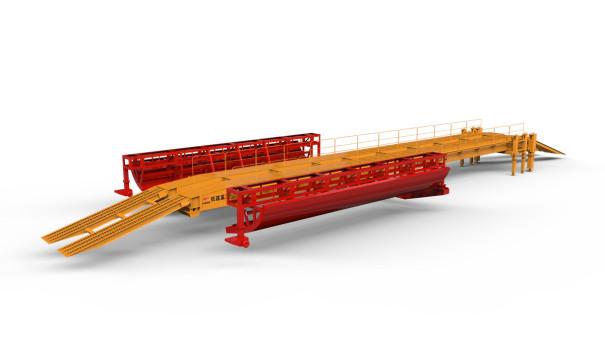 铁建重工YDZQ-12M/G仰拱桥模台车