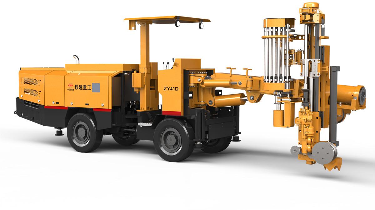 铁建重工ZY61D矿用中深孔凿岩台车高清图 - 外观
