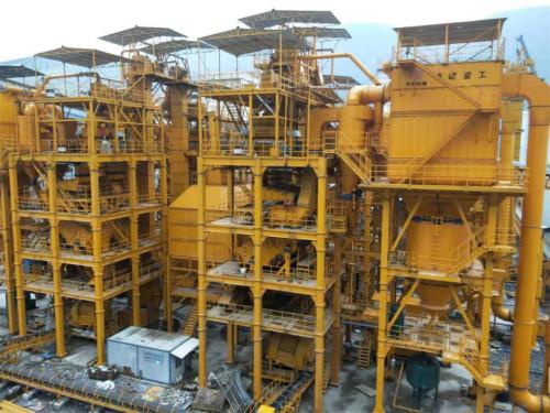 铁建重工LZS100环保型精品机制砂成套装备高清图 - 外观