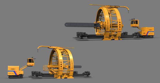 铁建隧道机械视频