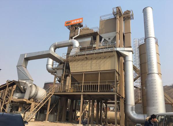 辽筑LJD4000间歇式再生沥青混凝土搅拌设备高清图 - 外观