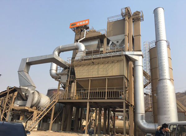 辽筑LJD2000间歇式再生沥青混凝土搅拌设备