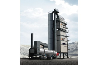 美通筑机重机DLB3000沥青搅拌设备高清图 - 外观