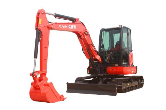 久保田KX155-5无尾回转小型挖掘机