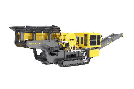 普石勒PC-107JE履帶移動顎式破碎站