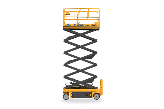 [720 ° panoramic display] XCMG XG1212HD scissor lifts