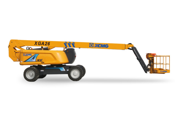 [720 ° panoramic display] XCMG XGA26 articulating boom aerial working platform
