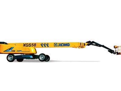 【720°全景展示】徐工XGS58直臂式高空作业平台
