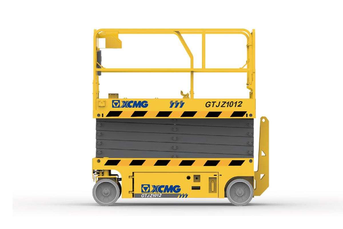 徐工GTJZ1212剪叉式高空作业平台高清图 - 外观