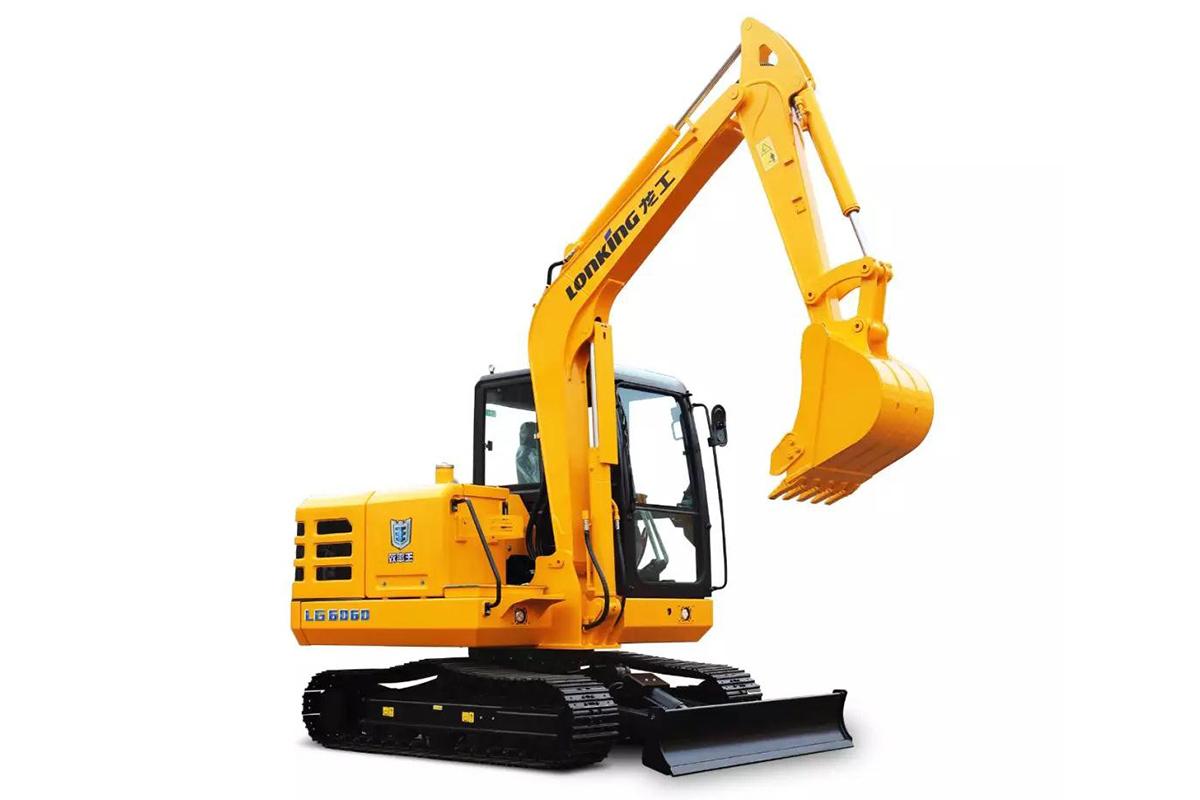 龍工LG6060履帶式液壓挖掘機|新外觀高清圖 - 外觀