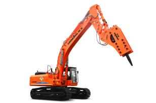 龙工LG6550F履带式液压挖掘机