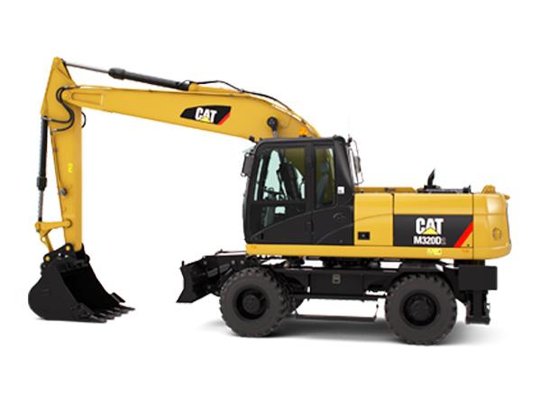 卡特彼勒M320D2輪式挖掘機 卡特